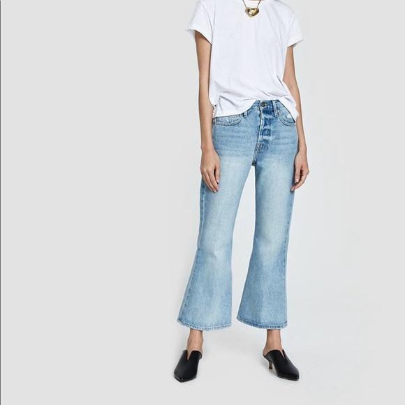 Frame Denim Denim - NEW • Frame • Le Cropped Flare Jeans Fifty Four 26